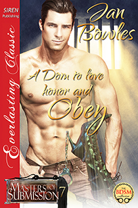 A Dom to Love, Honor, and Obey, coming soon